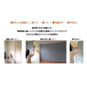 貼って剥がせるペンキ用下地壁紙 不織布 Pigment|walldecorationstore|03