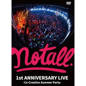 【DVD】notall 1st Anniversary Live / notall|wallop-store
