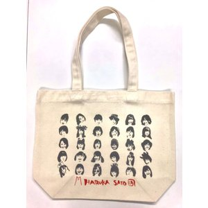 notall 佐藤遥生誕2019グッズ「佐藤遥デザインオリジナルトートバック」|wallop-store