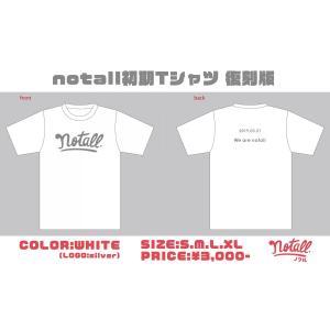 notall オフィシャル初期Tシャツ<復刻版>|wallop-store