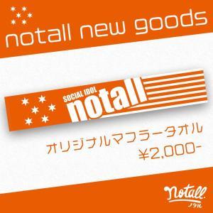 notall オフィシャルマフラータオル|wallop-store