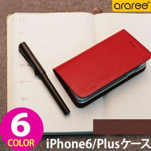 iPhone 6 iPhone 6s ケース アイフォン Plus ケース 手帳型 ブランド カバー 本革 レザー おしゃれ araree THUMB-UP DIARY ORIGINAL 全6色|wallstickershop