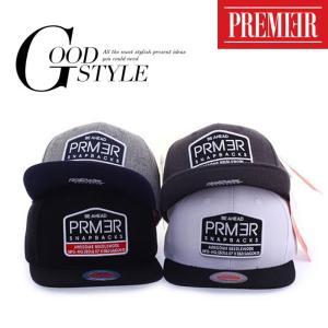 キャップ ローキャップ 帽子 スナップバック キャップ PREMIER ロゴ入り レディース キャップ メンズ キャップ|wallstickershop