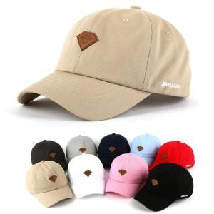 ローキャップ 帽子 ベースボールキャップ 野球帽子 レディース メンズ ロゴ ダイヤモンド ローキャップ ベースボールキャップ wallstickershop
