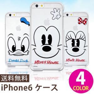 iPhone 6 iPhone 6s ケース iPhone6/6s Plus ケース ディズニー 全6種 アイフォン ハードケース ポリカーボネート スリム 薄型 おしゃれ|wallstickershop