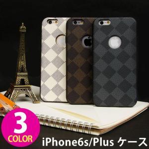 iPhone6 iPhone6s Plus ケース スマホケース iPhone6 iPhone6s Plus ケース 斜め チェック TPU ソフト ケース|wallstickershop