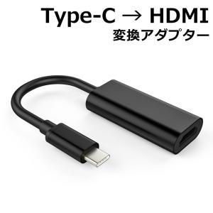 スマホ テレビ 接続 変換 繋ぐ アンドロイド Type-C HDMI ミラーリング GalaxyS8 S9 MacBook 4K2K対応 HDCP1.4/2.2対応 y1|wallstickershop