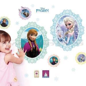 ウォールステッカー 壁 ディズニー キャラクター アナと雪の女王アナ エルサ 貼ってはがせる のりつき 壁紙シール ウォールシール ウォールステッカー本舗|wallstickershop