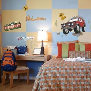 ウォールステッカー 壁 北欧 オフロード 貼ってはがせる のりつき 壁紙シール ウォールシール リメイクシート|wallstickershop