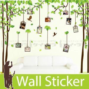 ウォールステッカー 木 壁 壁紙 シールタイプ おしゃれ 壁紙シール のりつき 貼ってはがせる ウォールシール カッティングシート リメイクシート|wallstickershop