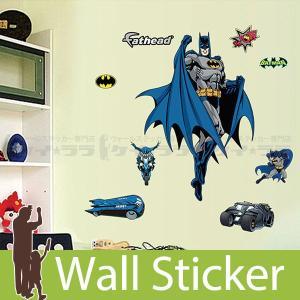 ウォールステッカー 壁 バットマンキャラクター 貼ってはがせる のりつき 壁紙シール ウォールシール ウォールステッカー本舗|wallstickershop