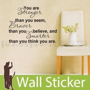 ウォールステッカー 壁 英語 文字 英字 英文字(You are) 転写タイプ 貼ってはがせる のりつき 壁紙シール ウォールシール ウォールステッカー本舗|wallstickershop