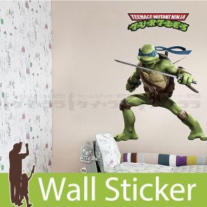 ウォールステッカー 壁 アニメ ニンジャタートルズ キャラクター 貼ってはがせる のりつき 壁紙シール ウォールシール ウォールステッカー本舗|wallstickershop