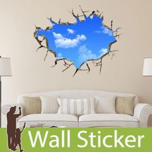 ウォールステッカー トリックアート だまし絵  壁紙シール ウォールステッカー 木 ウォールステッカー 壁紙 ウォールステッカー|wallstickershop