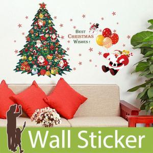 ウォールクリスマス 雪 装飾 結晶 サンタクロース もみの木 ツリー 雪だるま 貼ってはがせる 雪の結晶 オーナメント 北欧|wallstickershop
