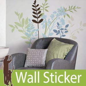 ウォールステッカー 花 (マルチブランチ) ルームメイツ RoomMates 壁紙シール 貼ってはがせる のりつき ウォールシール|wallstickershop