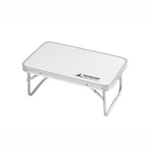 パール金属 ラフォーレアルミFDテーブル〈コンパクト〉56×34cm|wamonogram