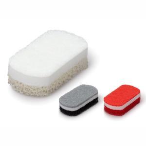 ○キッチンとコーディネイトしやすいカラー。○シンプルだけど、素材にこだわった使いやすいスポンジです。...