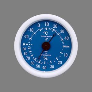 タニタ 温度計 温湿度計 TT-515 ブルー|wamonogram