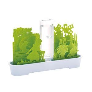 積水樹脂 自然気化式ECO加湿器 不思議な世界 グリーン|wamonogram