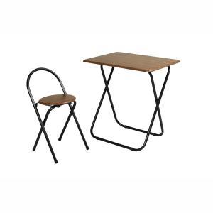 弘益 フォールディングテーブルセット ブラウン|wamonogram