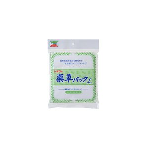 トキワ工業 薬草パックLサイズ 25枚入|wamonogram