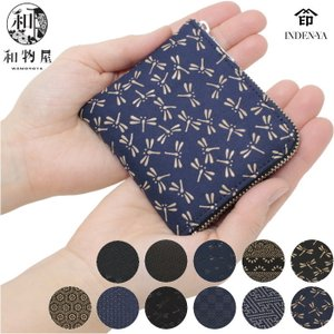印伝 小銭入れ 印傳屋 印伝 メンズ 和柄 1008 小銭入れ 和風 コインケース 印伝 小銭入れ|wamonoya-inden