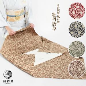 大判 風呂敷 綿シャンタン 風呂敷 ふろしき 蒔絵クロス かきつばた 染め 結婚祝い wamonoya-inden