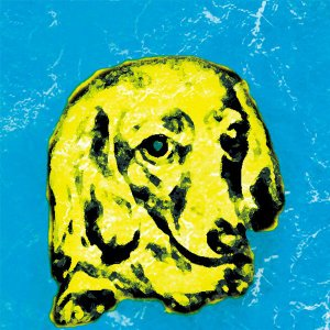 【BOW COLOR blue】 ミニチュアダックスフンド 10by10 STYLE (インテリア/雑貨/犬)|wan-nyan-gallery