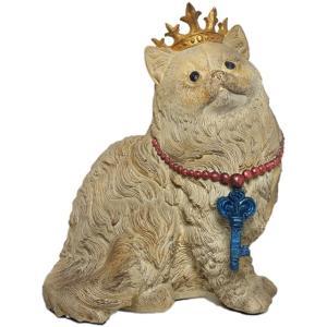 【Queen of Cat】 猫王妃 Peer Objet 英国貴族風アンティークオブジェ (置物 輸入雑貨)|wan-nyan-gallery