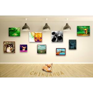 【チワワ -Interior SML 3Package-】 ワンにゃんアートキャンバス  S×1 M×1 L×1 の3点セット (絵画/犬/インテリア雑貨)|wan-nyan-gallery