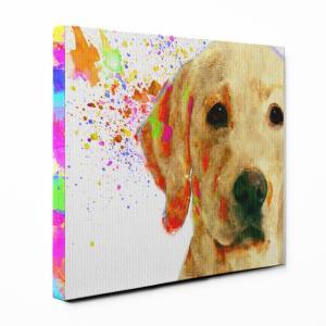 【Watch】 ラブラドールレトリバー Sサイズ ワンにゃんアートキャンバス Huge series (絵画/アート/犬)|wan-nyan-gallery