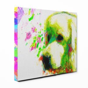 【Watch】 グレートピレニーズ Sサイズ ワンにゃんアートキャンバス Huge series (絵画/アート/犬)|wan-nyan-gallery