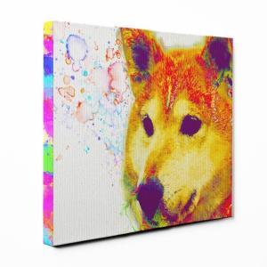 【Watch】 柴犬 Lサイズ ワンにゃんアートキャンバス Huge series (絵画/アート/犬)|wan-nyan-gallery