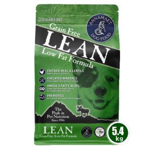 リーン 15ポンド(6.8kg) アナメイト グレインフリー ドッグフード リーン 低脂肪 シニア ダイエット ANNAMAET|wan-nyan-olive
