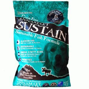 サスティーン 15ポンド(6.8kg) アナメイト グレインフリー ドッグフード サスティーン ANNAMAET|wan-nyan-olive|02
