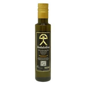 2本セット10%OFF インダルオリーバ 250ml 最高級エキストラバージンオリーブオイル スペイン産 wan-nyan-olive
