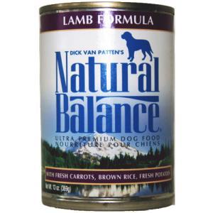 ダイエット缶フード ラム&ブラウンライス 369g ナチュラルバランス  犬用缶詰|wan-nyan-olive