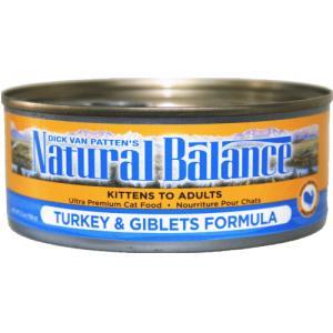 ターキー 156g 24缶 ナチュラルバランス キャット缶フード  猫用缶詰|wan-nyan-olive