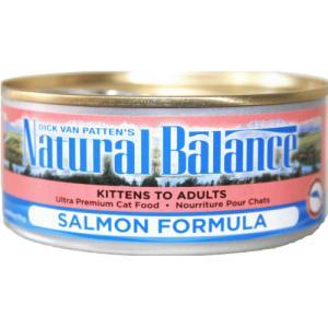サーモン 156g 24缶 ナチュラルバランス キャット缶フード  猫用缶詰|wan-nyan-olive