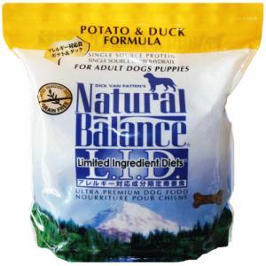 ポテト&ダック ドッグフード 5ポンド(2.27kg) ナチュラルバランス アレルギー用 |wan-nyan-olive