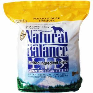 ポテト&ダック ドッグフード 12ポンド(5.45kg) ナチュラルバランス 送料無料|wan-nyan-olive