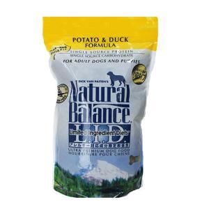 ポテト&ダックドッグフード スモールバイツ 小粒 2.2ポンド(1kg) ナチュラルバランス|wan-nyan-olive