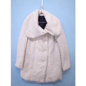 SPIRALGIRL(スパイラルガール)中綿コート 長袖 白 レディース Bランク 1 wanboo