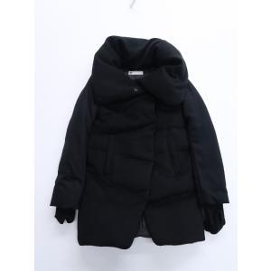 SLY(スライ)ビッグカラーダウンコート 長袖 黒 レディース Bランク 1 wanboo