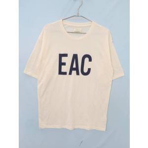 Ungrid(アングリッド)プリントビッグTシャツ 半袖 白/紺 レディース Aランク F|wanboo