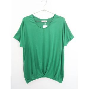 DURER(デュレル)ドルマンTシャツ 半袖 緑 レディース 新品 F|wanboo