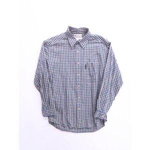 Columbia(コロンビア)ベーシックチェックシャツ 長袖 黄 紺 メンズ Aランク M|wanboo