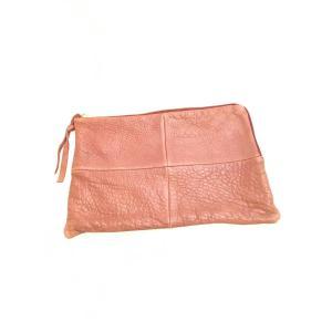 TODAYFUL(トゥデイフル)Leather clutch Bag 茶 レディース|wanboo