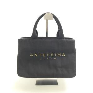 ANTEPRIMA(アンテプリマ)キャンバスミニトートバッグ 黒 レディース Bランク|wanboo